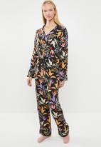 Superbalist - Sleep shirt and pants set - multi