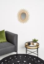 Sixth Floor - Rattan side table - natural
