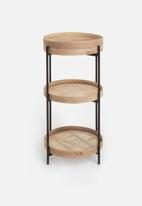Sixth Floor - Rattan shelf - natural