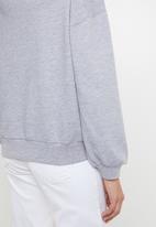 Superbalist - Balloon sleeve sweat - grey