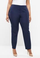 POLO - Plus size brooke formal pants - navy
