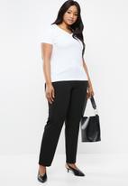 POLO - Plus size brooke formal pants - black