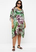Lithe Plus - Printed kaftan - multi