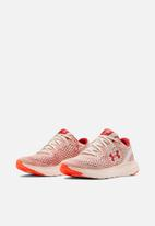Under Armour - Ua w charged impulse mjve - apex pink/peach plasma/fractal pink