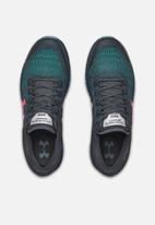 Under Armour - Ua charged bandit 5 - wire/ash gray/beta red