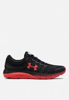 Under Armour - Ua charged bandit 5 - black & martian red
