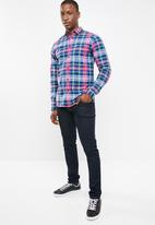 Tommy Hilfiger - Tjm essential long sleeve shirt - multi