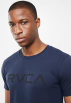 RVCA - Big RVCA short sleeve T-shirt - navy