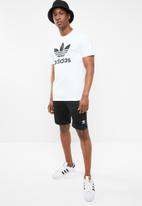 adidas Originals - 3 Stripe tricot short - black & white