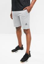 Reebok Classic - Mens elements shorts - grey