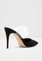 ALDO - Stiletto heel mule - black