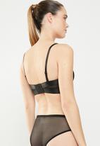 Sissy Boy - Underwire strappy bra - black