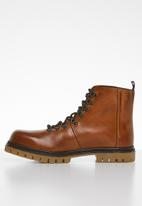 Superbalist - Dominic leather hiker boot - tan