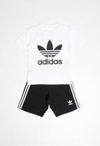 adidas Originals - Adidas outfit set - black/white
