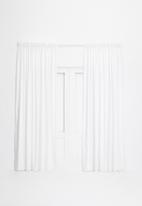 Sixth Floor - Taped curtain extra length - white