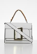 Superbalist - Big buckle bag - white