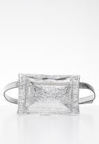 Superbalist - Brode waist bag - silver