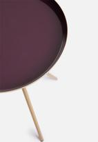 SF Collection - Sam tri side table - purple