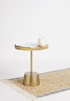 Sixth Floor - Wooden top side table