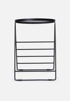 Sixth Floor - Jax side table - black