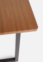 Sixth Floor - Industrial dining table - brown