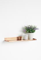 Sixth Floor - Tatsuo wall shelf - copper