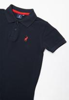 POLO - Austin short sleeve golfer - navy