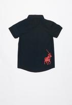 POLO - Boys Denis short sleeve shirt - navy