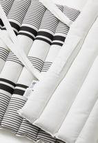 Sixth Floor - Bed roll - grey stripes