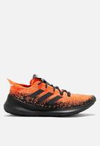 adidas Performance - Runbounce + fade m - hi-res coral/core black/active orange