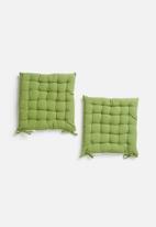 Sixth Floor - Seat cushion set - olive green