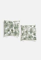Sixth Floor - Seat cushion set - palm