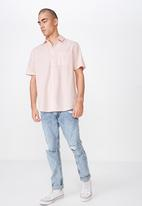 Cotton On - Premium short sleeve shirt - pink