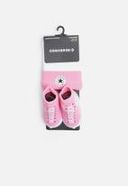 Converse - Converse hat & boots - pink & white