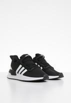 adidas Originals - U_path run j - black & white