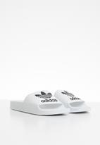 adidas Originals - Adilette j - black & white