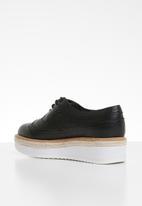 ALDO - Etiladda leather brogue - black