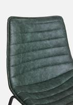 Sixth Floor - Panel dining chair - green
