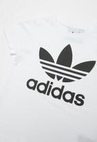 adidas Originals - Little boys trefoil tee - white & black