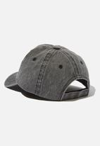 Cotton On - Licensed baseball cap - charcoal