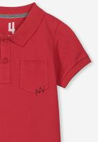 Cotton On - Kendricks polo - red