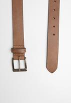 Superbalist - Isiah leather belt - brown