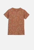 Cotton On - Penelope short sleeve tee - brown