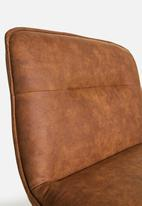 Sixth Floor - Cross chair - brown