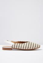Cotton On - Faux leather square toe - mutli