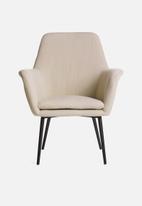 Sixth Floor - Tulip chair - linen look