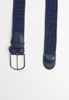 Superbalist - Stan webbing belt - navy