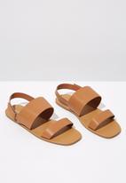 Cotton On - Isla sling back sandal - tan