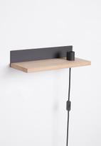 Smart Shelf - Ledge shelf - oak