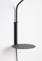 Emerging Creatives - Stockholm swing arm table lamp - black